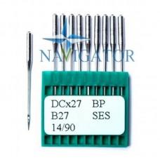 Промышленные швейные иглы Dotec DCx27 BP, B27 SES для оверлоков