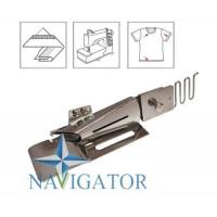 Окантователь S124 тип C для распошивальной машины на платформе в два сложения для вшивания резинки