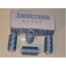 Нить джинсовая цвет серо-голубой, № 309