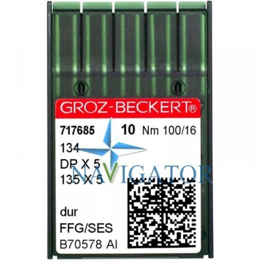 Промышленные швейные иглы 134, DPx5 № 100 упаковка 10 шт